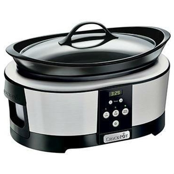 CROCK POT SLOWCOOKER 5,7 L - TIMER